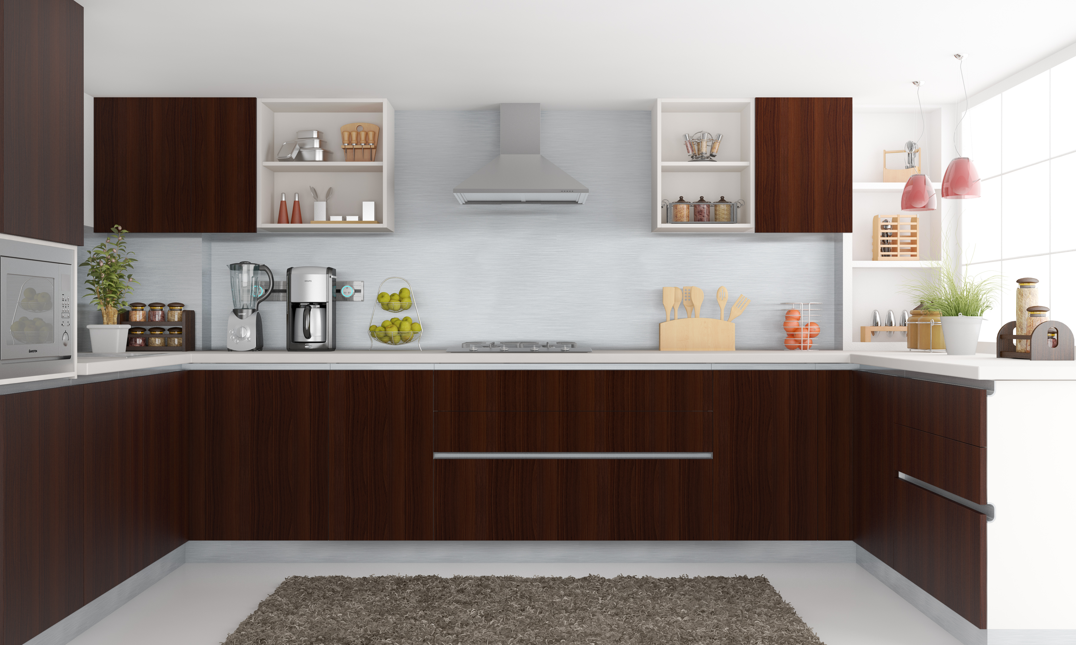 shaped kitchen set along a single wall the straight kitchen is an